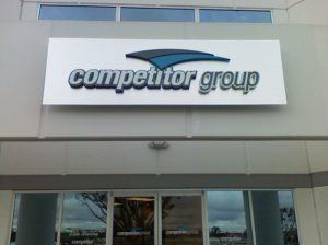 dimensional letter building signs for Mt. Prospect IL