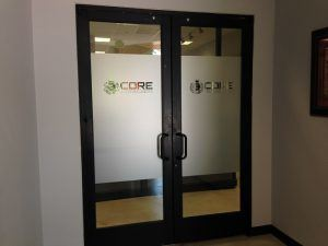 Frosted Vinyl Films for Doors