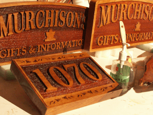 Carved and Sandblasted Signs for Chicago IL