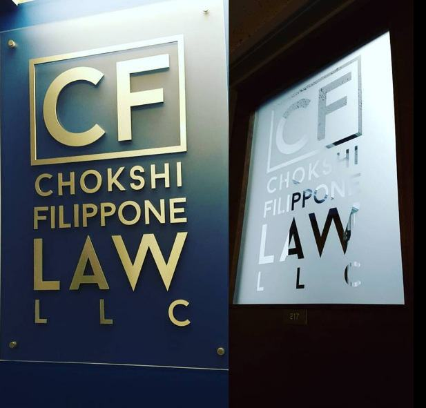 signs and graphics for law firms in Mt. Prospect IL