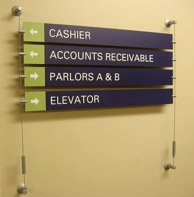 architectural sign mounting hardware